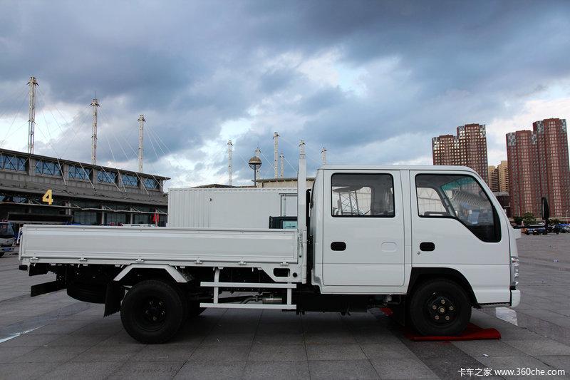 庆铃 五十铃100P 4x2 双排载货车高清图片